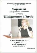 Spotkanie autorskie z Małgorzatą Wardą