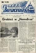 """Kolejny rocznik """"Gazety Bieszczadzkiej"""" zdigitalizowany"""