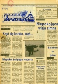 """""""Gazeta Bieszczadzka"""" - zdigitalizowany trzeci rocznik"""