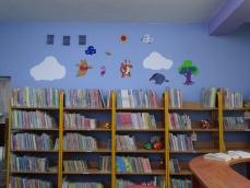 Wypożyczalnia dla Dzieci i Młodzieży została pomalowana