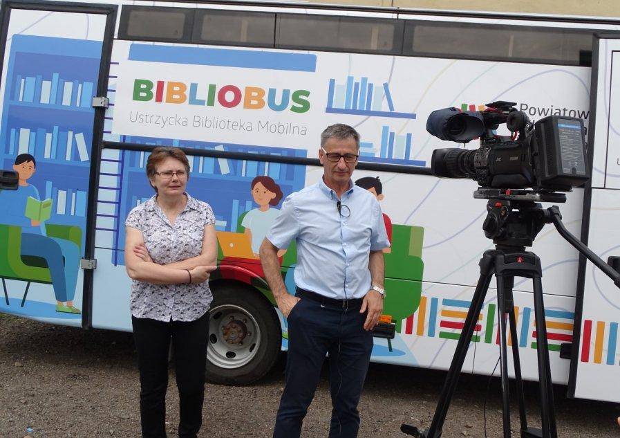Inauguracja trasy Bibliobusu